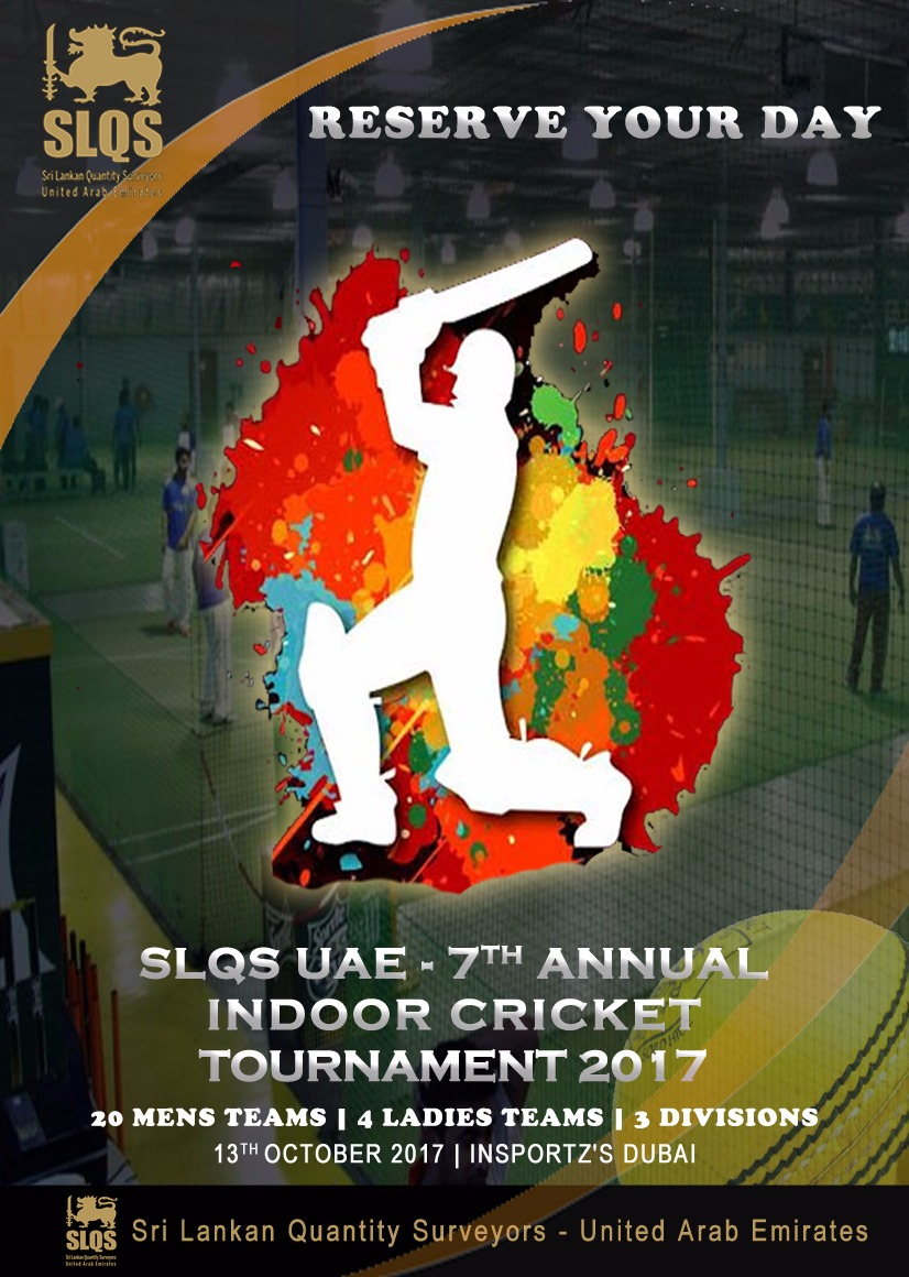 7th Annual Indoor Cricket Tournament 2017
