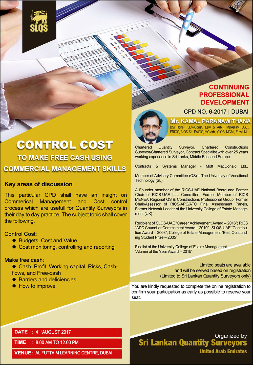 control cost to make free cash using commercial management skills - Cash Management Skills