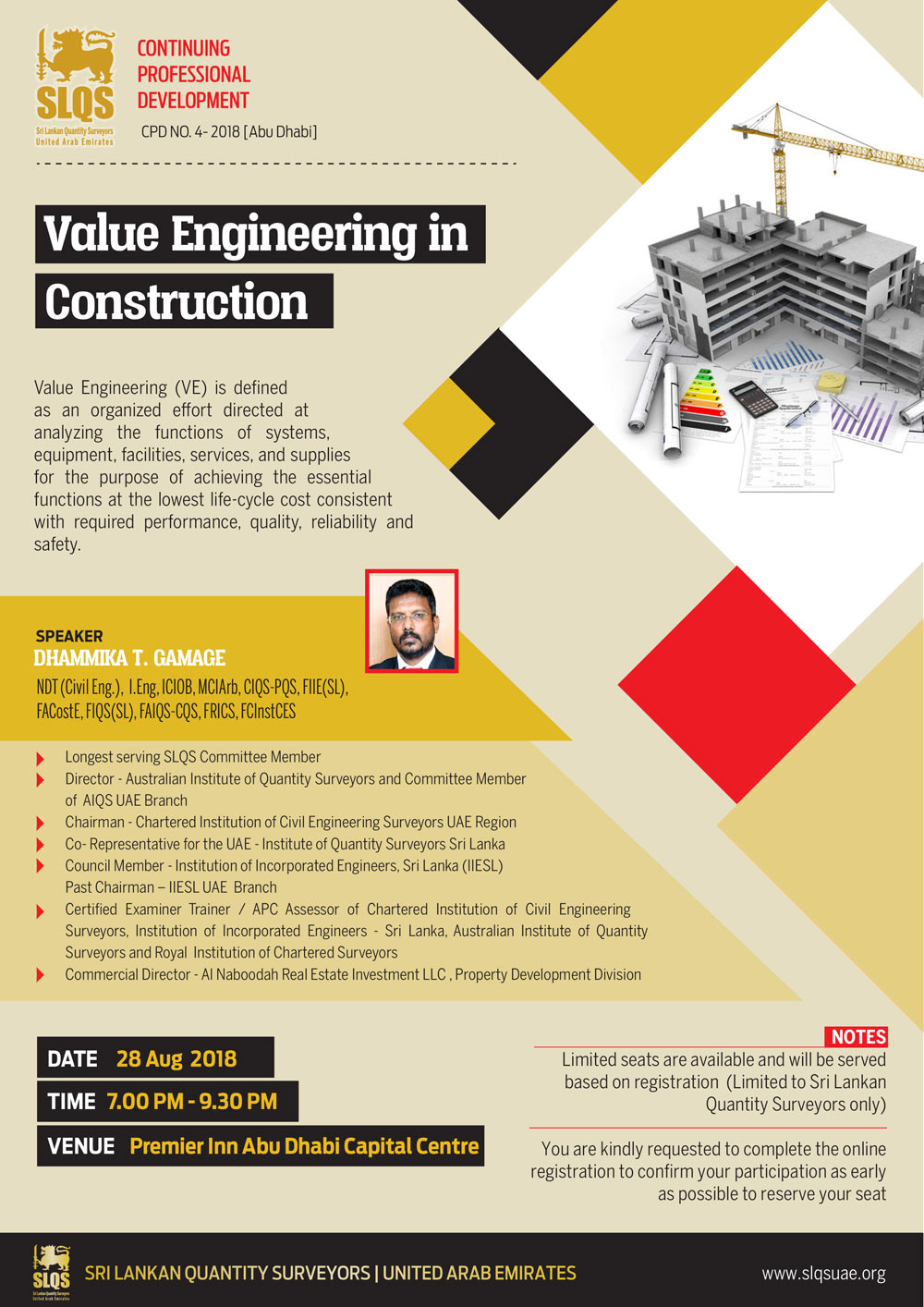 Value Engineering in Construction – Sri Lankan Quantity Surveyors