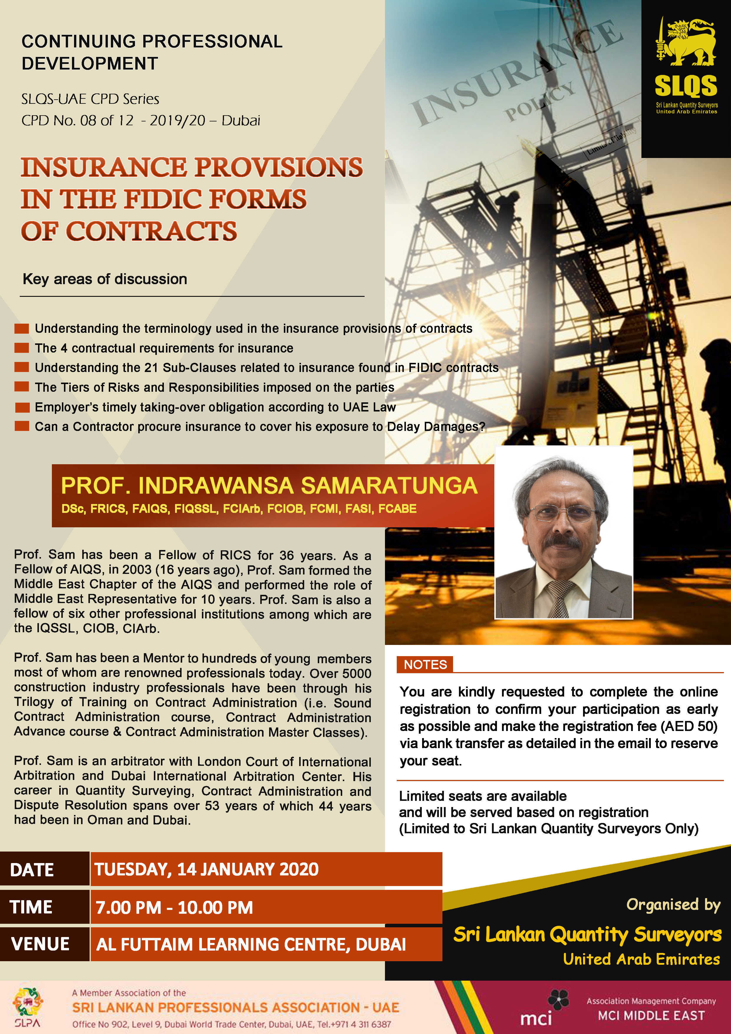 Insurance Provisions Under FIDIC forms of Contracts
