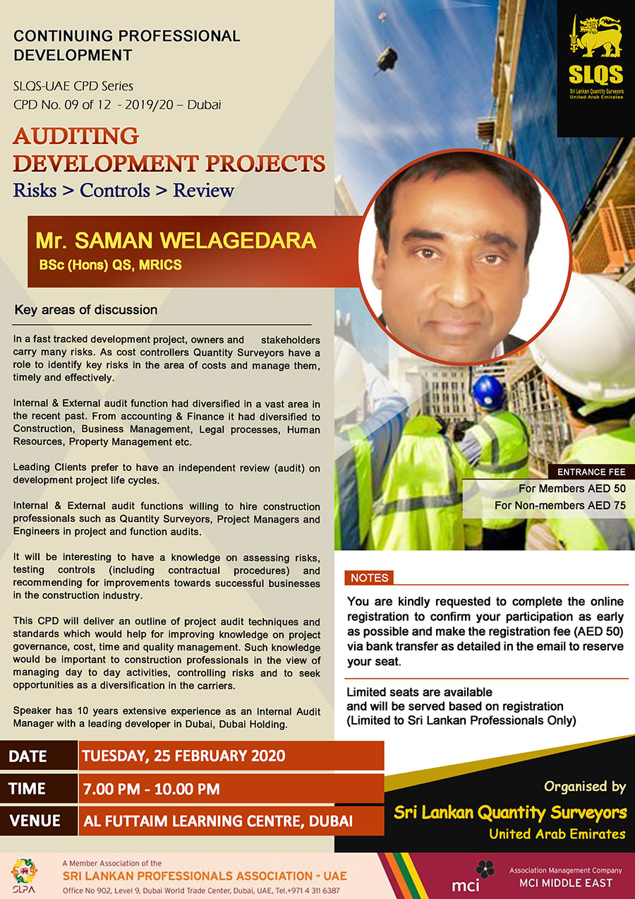 Auditing Development Projects